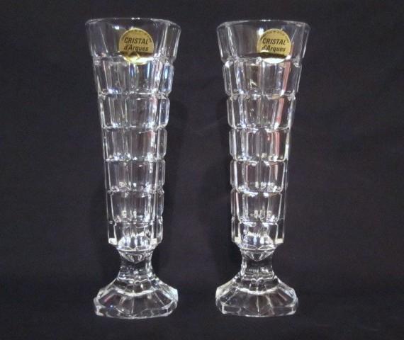 Vintage Cristal D'arques Crystal Bud Vase