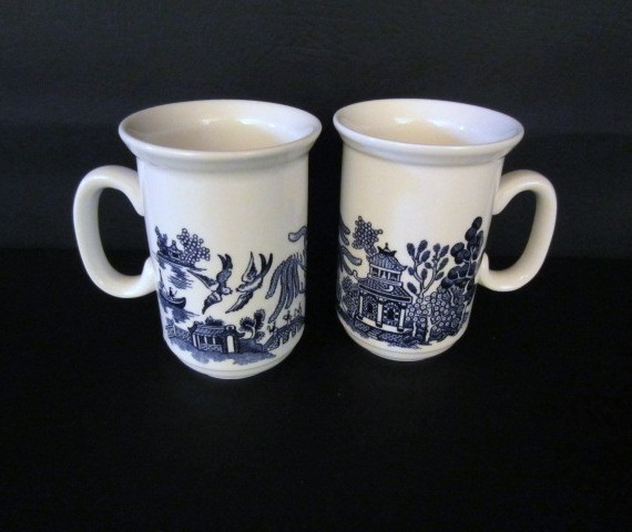 Churchill Willow Blue Mug Made in England