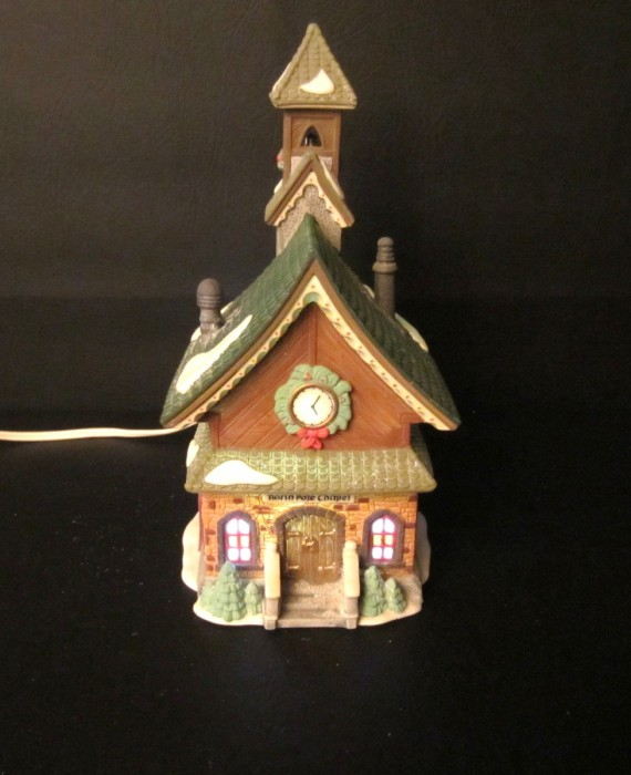 Dept 56 North Pole Chapel Heritage Village North Pole