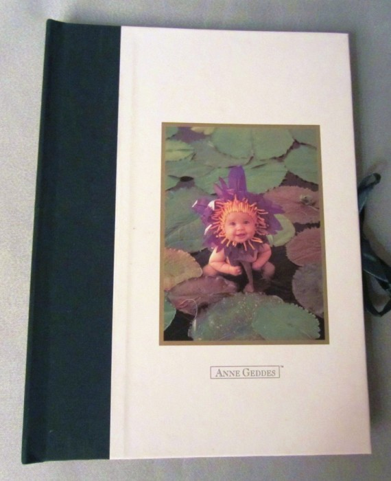 Anne Geddes Water Lily Baby Photo Album Memory Book