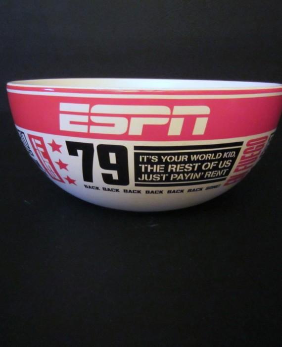 79 ESPN Famous Quotes Stuart Scott Boo Ya Dan Patrick En Fuego Lg Snack Bowl