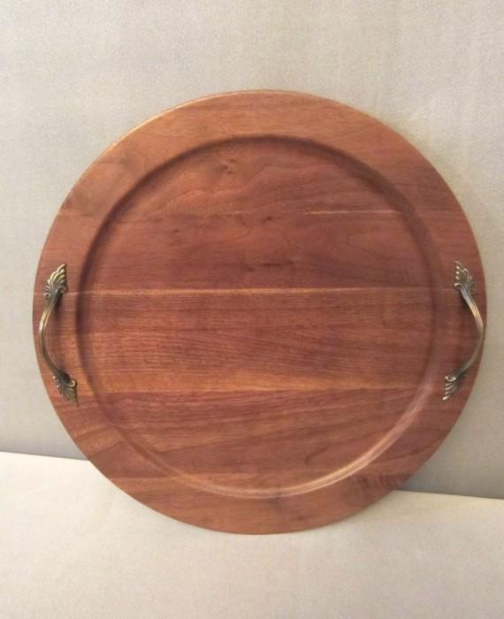 wooden tray ozark walnutware solid walnut wood
