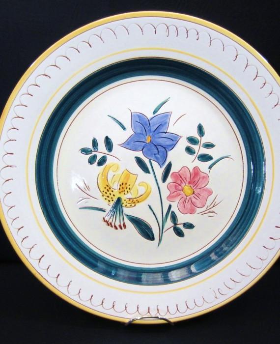 Stangl Pottery Garden Flower Large Platter