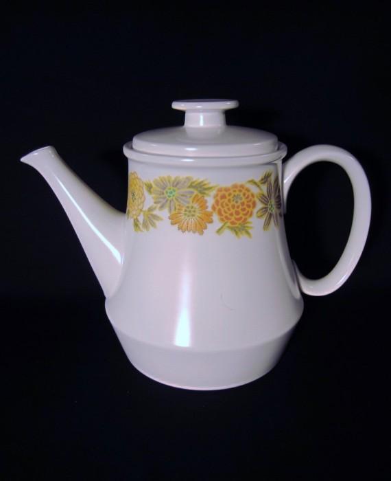 Vintage Noritake Sunny Side 9003 Floral Teapot
