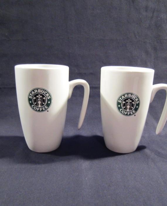 Starbucks 2007 Mermaid Siren Logo Hook Handle 9 oz Mugs