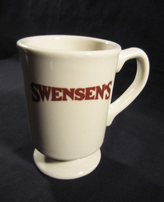 Swensen's Ice Cream Heavy Diner Restaurant USA Mug