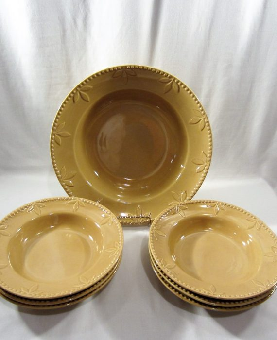 Signature Sorrento Wheat Pasta Bowl Set