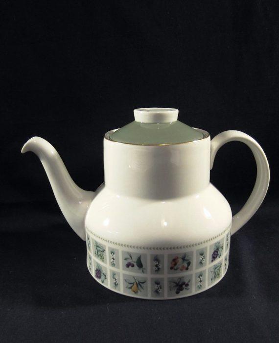 Royal Doulton TAPESTRY TC1024 Fruit Flowers Teapot